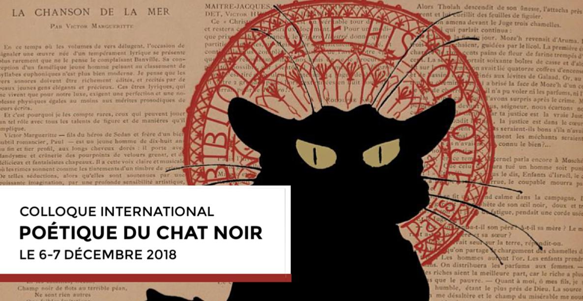 Colloque international : Poétique du Chat Noir (6-7 décembre 2018)