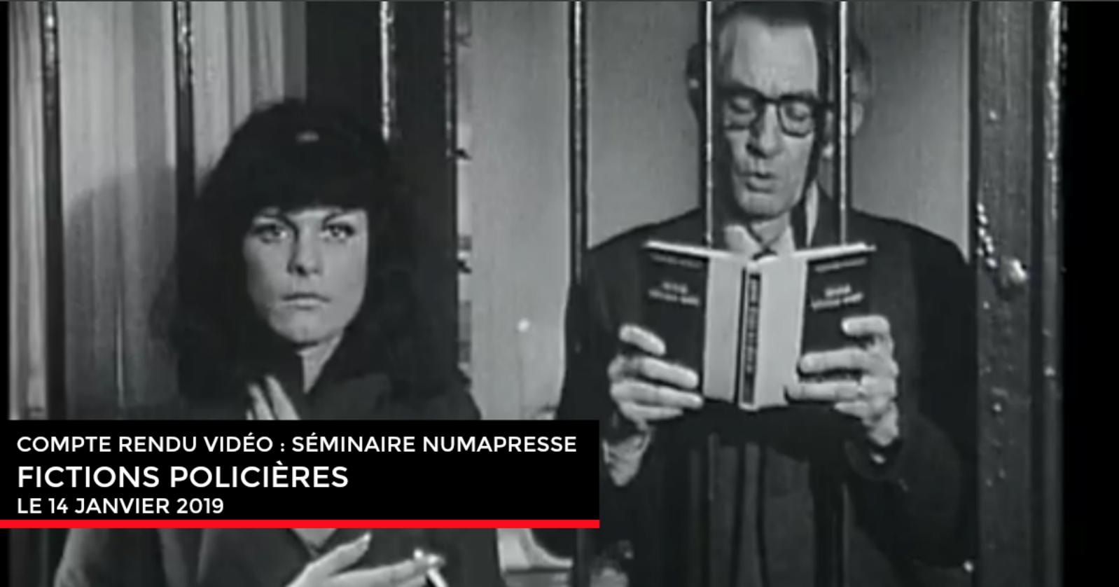 Compte rendu : Séminaire Numapresse «Fictions policières» (14 janvier 2019)