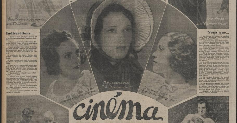 [Journée d'étude] L'écriture cinématographique dans la presse du XXe siècle au prisme des humanités numériques